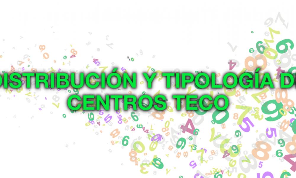 Distribución de Centros TECO según su Tipología